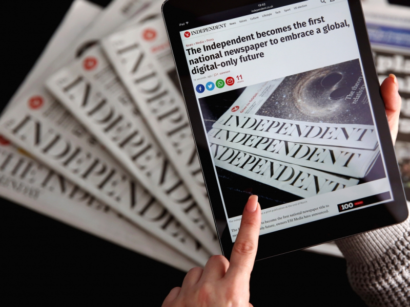 Future of Newspapers in the Middle of the Current Technological Era